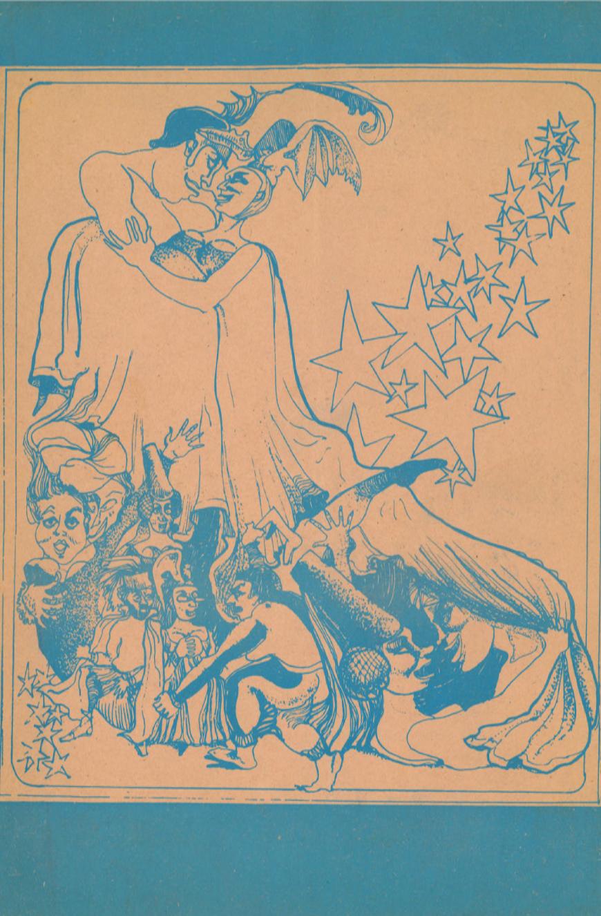 1975 Cartell Xicotet La Infanta Tellina i El Rei Matarot