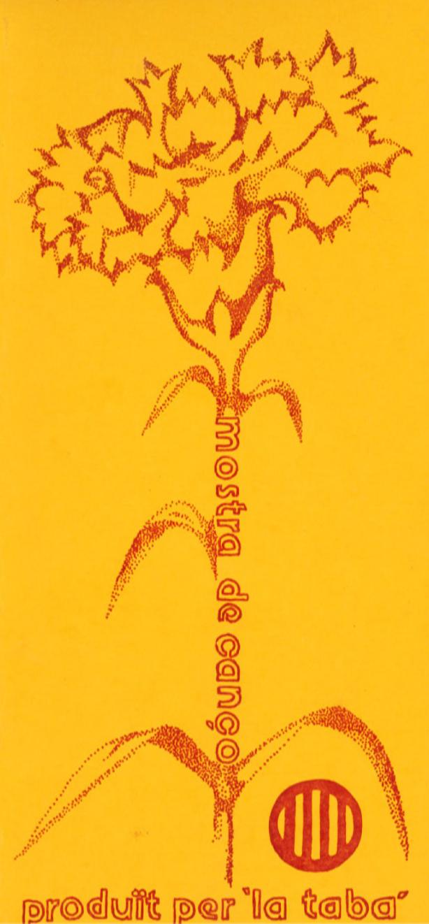 1976 Pavesos Mostra de Cançó