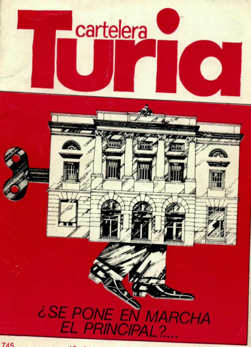 1978 Pavesos El Pardal de Sant Joan i La Bolseria Turia 15 maig