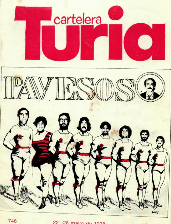 1978 Pavesos El Pardal de Sant Joan i La Bolseria Turia 22 maig