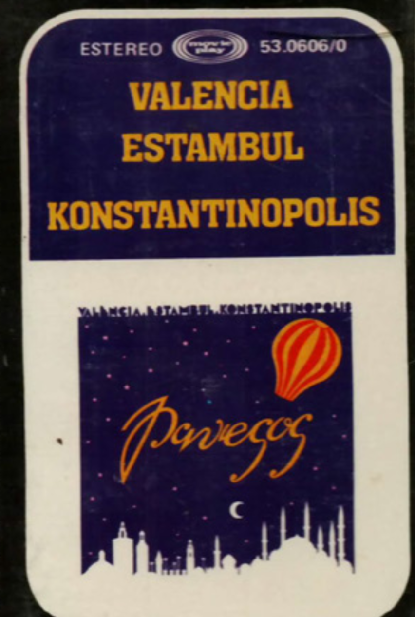 1979 Pavesos Cinta Radiocasset València Estambul Konstantinopolis