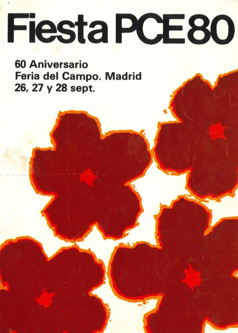 1980 Pavesos Festa PCE Madrid