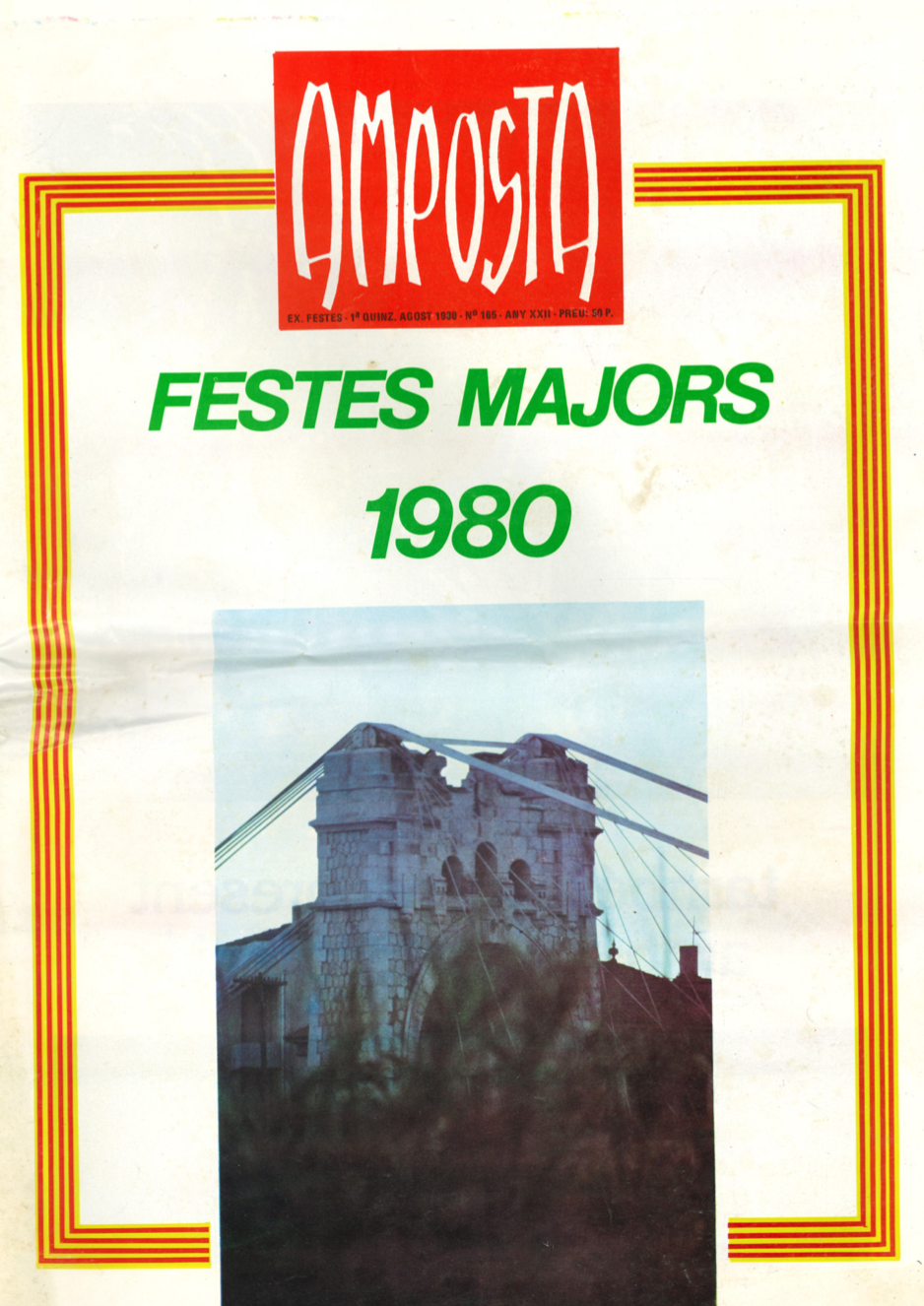 1980 Pavesos Festes d'Amposta Revista/Programa