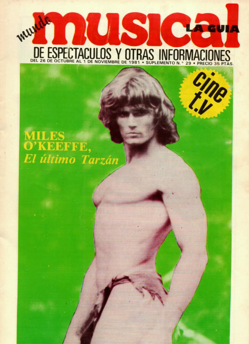 1981 D. Juan Tenorio Teatre Principal València. Musical 26 d'octubre