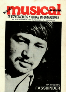 1982 Musical 14 juny