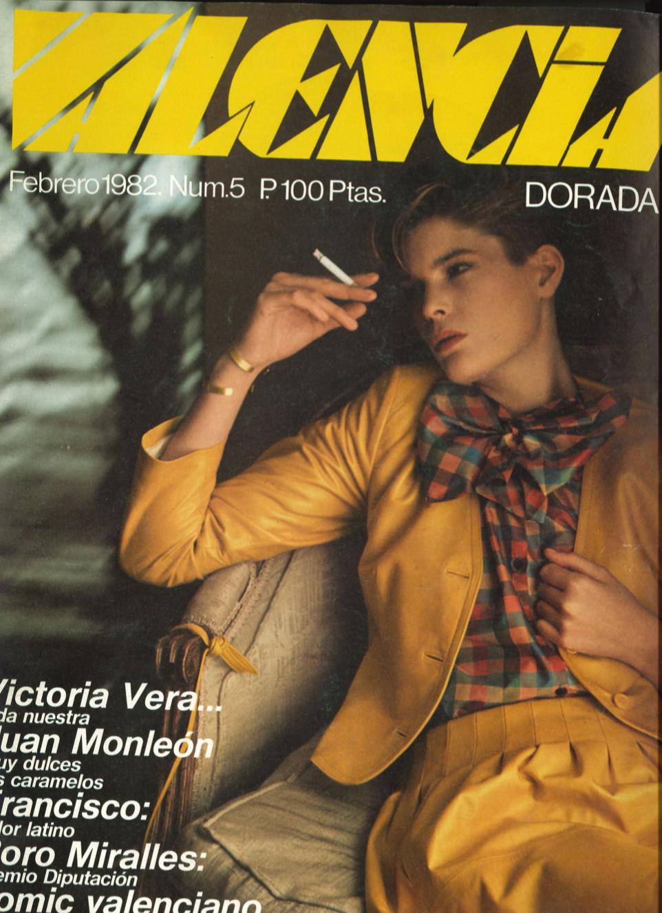 1982 Pavesos Monle, Merxe Valencia Dorada Núm. 5 febrer