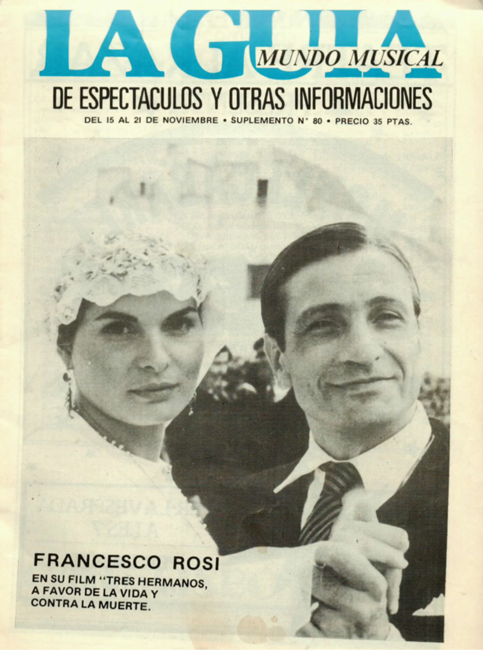 1982 Pavesos Nou i Mig Teatre Alkázar La Guia 15 novembre