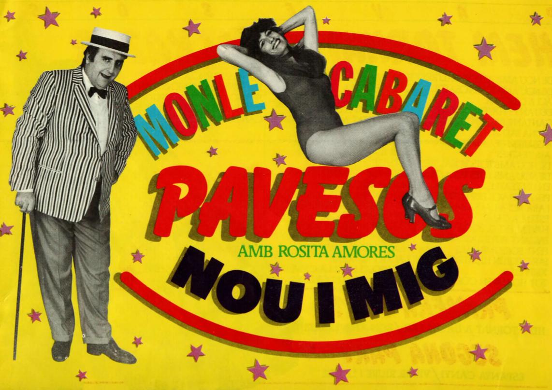 1982 Programa de mà Pavesos Nou i Mig Teatre Alkázar
