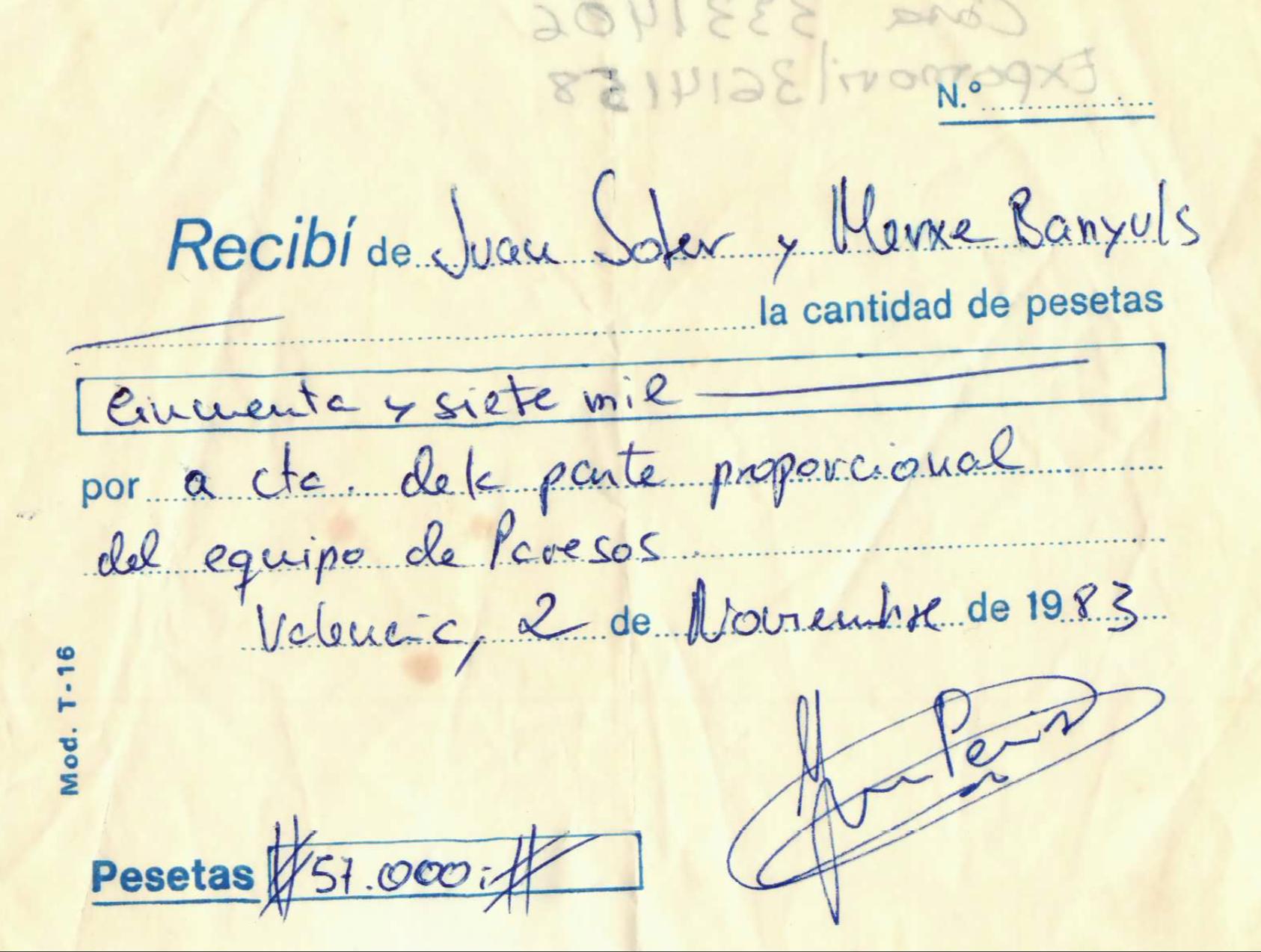 1983 Pavesos Rebuts Equip