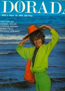 1983 Valencia Dorada Núm. 16 Festa Claca