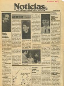 1984 Vcia i Cultura Noticias Levante, Las Provincias