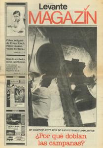 1985 Angelets i Dimonis Foto Comunió Levante Magazín