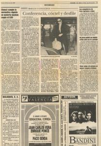 1990 Societat i Cultura Levante, Las Provincias