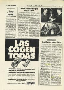 1992 Societat Cultura Las Provincias, Levante Adéu a Joan Fuster
