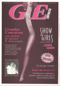 1996 Revista Ge Express. Comiat a Rafa Ferrando