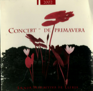 2002 CD Pasdoble Concert de Primavera Banda Primitiva de Llíria 11 maig