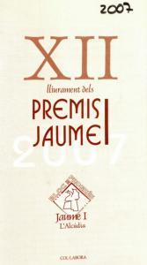 2002 Premi Ovidi Montllor. Fullet 2007