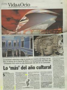 2006 Cultura CV Societat Las Provincias, Levante, Av Butlletí Aj. Villena