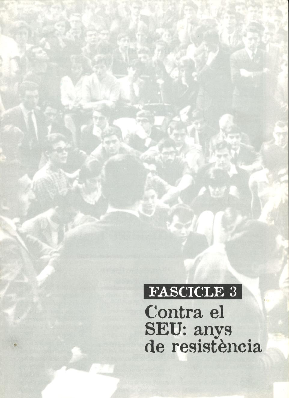 Reunió d'estudiants després d'eixir de la presó (abril de 1965) Es van reunir amb motiu de la boda d'Antoni Vizcaino