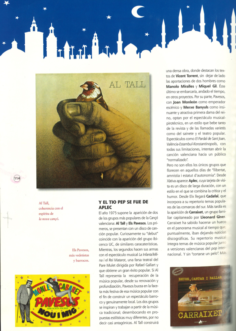 Pavesos Article Carles Gàmez