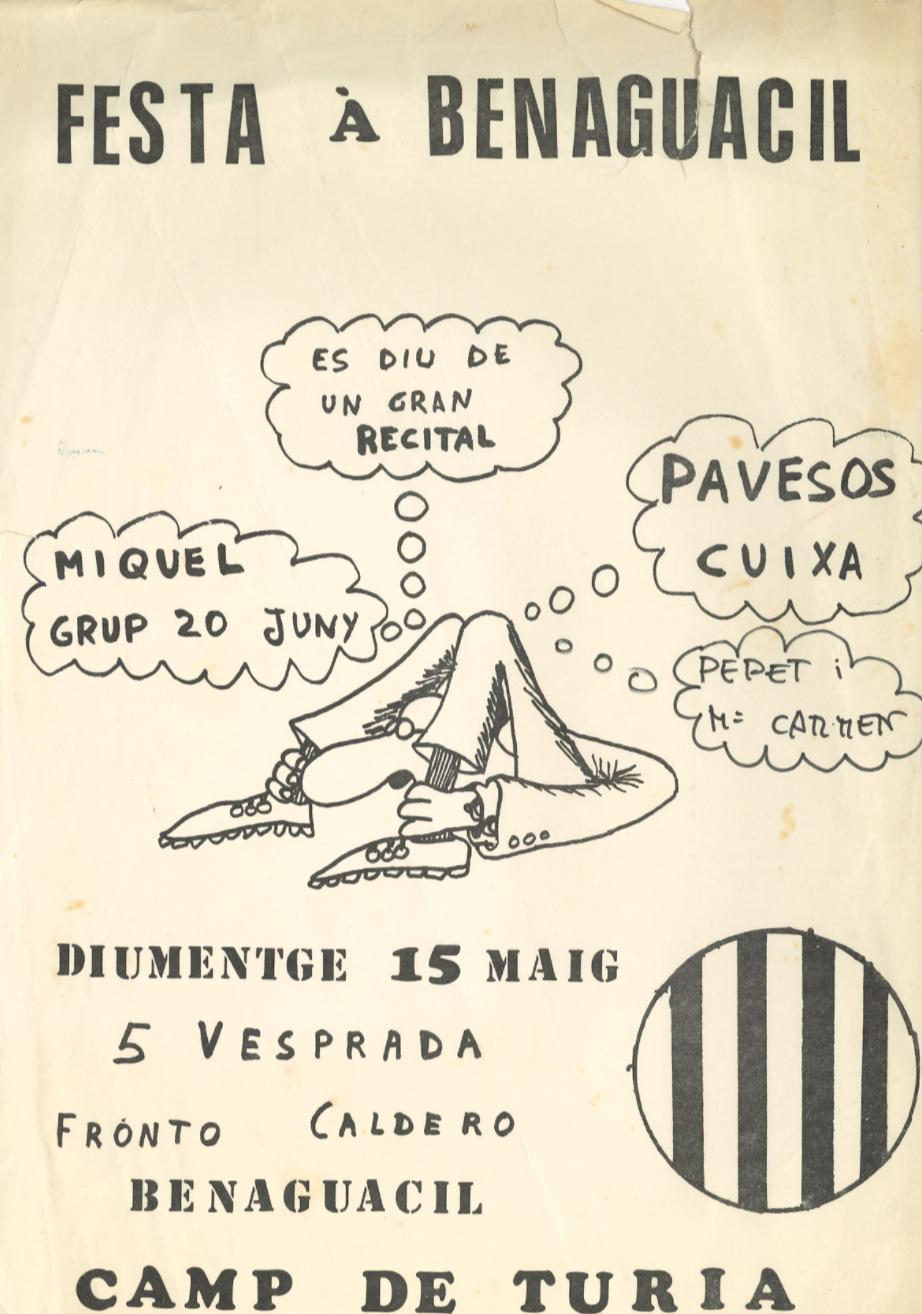 Pavesos Benaguacil Festa 15 maig